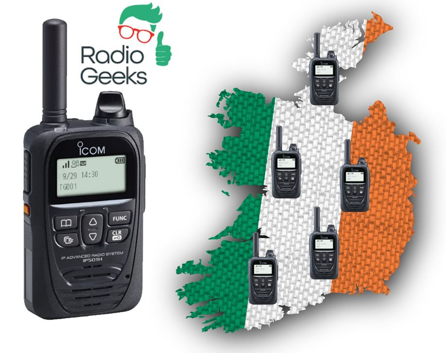 Push To Talk Over Cellular Network Radio (PoC) Covering Ireland