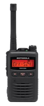 Motorola EVX-S24 Digital Handheld Two-Way Radio Two Way Radio