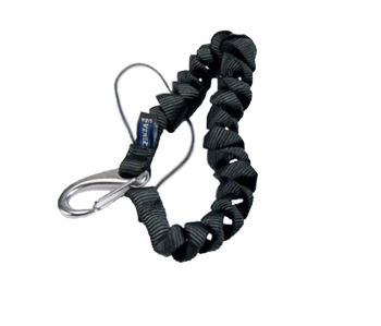 Cetacea Coil Tether Two Way Radio Lanyard
