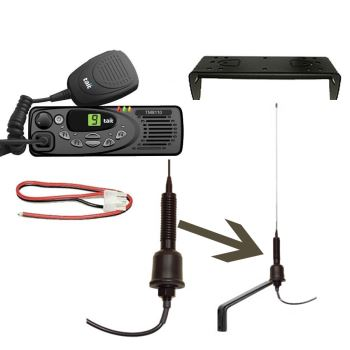Tait TM8110 VHF Mobile Complete Agri Kit
